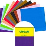 Solid Color Origami Paper