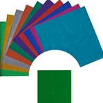 Assorted Color Foil Origami Paper Kit with Instructions