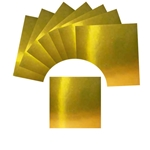 Gold Foil Origami Paper Kit with Instructions