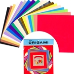 Origami Paper Pack - MEDIUM - Mixed Colors and Sizes