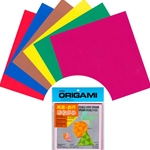Double Sided Origami Paper Kit with FREE Instructions - MIXED COLORS