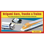 Origami Cars, Trucks and Trains