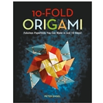 10-Fold Origami Book by Peter Enge