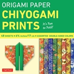 Double Sided Origami Paper Pack - CHIYOGAMI PRINTS - 6.25""