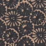 Lokta Paper Origami Pack - Batik Floating Flower - BLACK