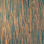 Lokta Paper Origami Pack - Wood Grain - METALLIC COPPER ON TEAL