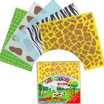 Animal Print Origami Paper Pack - 15cm