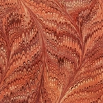 Italian Marbled Origami Paper - BUTTERFLY - Burgundy