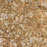 Italian Marbled Origami Paper - STONE - Peach/Gold/Silver