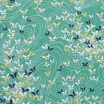 "Chiyogami Yuzen Origami Paper Pack 6"" x 6"" Sheets (4 Pack) - FLUTTER"