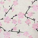 Lokta Paper Origami Pack - Blossom - PINK ON NATURAL