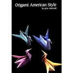 Origami American Style Instruction Book and Paper Kit