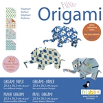 "8"" Origami Paper - Funny Origami - ELEPHANT"