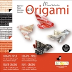 "6"" Art Origami Paper - Music - SPARROW"