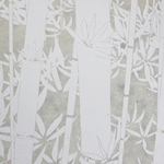 Lokta Paper Origami Pack - Bamboo - WHITE ON NATURAL