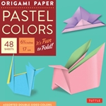 "Origami Paper - Pastel Colors 6.75"", 48 Sheets"