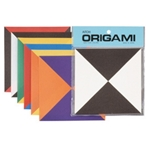 Two-Tone Triangle Origami Paper Pack  - 15cm