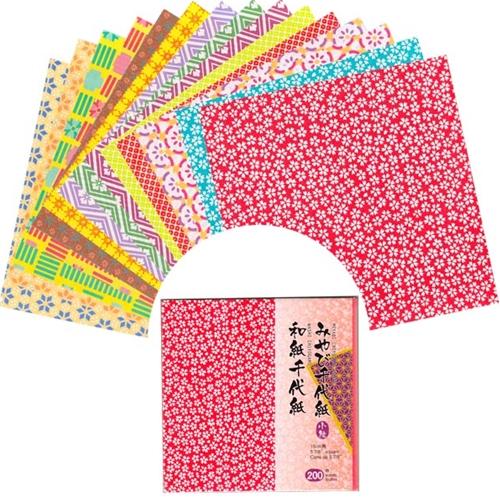 Origami Paper Mega Pack GEOMETRIC PATTERNS 40 4040 Fascinating Patterned Origami Paper