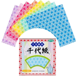 Color Chiyogami Thousand Cranes Origami Paper-3