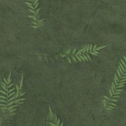 Lokta Paper Origami Pack - Sun Washed Fern - FOREST GREEN AND PALM