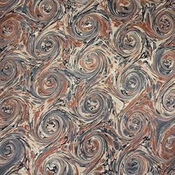 Italian Marbled Origami Paper - CURLED STONE - Browns