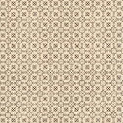 Italian Carta Varese Origami Paper - CROSSES AND FLOWERS - Brown
