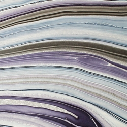 Thai Marbled Origami Paper - PURPLE/GRAY