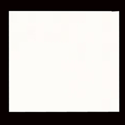 Solid Color Origami Paper - WHITE 6""
