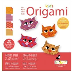 "6"" Kids Origami Paper Pack - CAT"