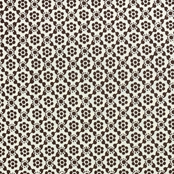 Italian Carta Varese Origami Paper - Dot Flower - BROWN