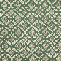 Italian Carta Varese Origami Paper - FLORAL IN LEAVES - Green